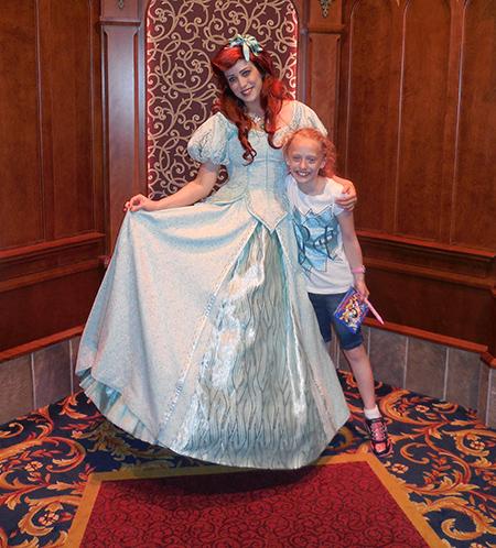 Sassy with Ariel