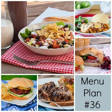 Menu Plan Monday – Week 36