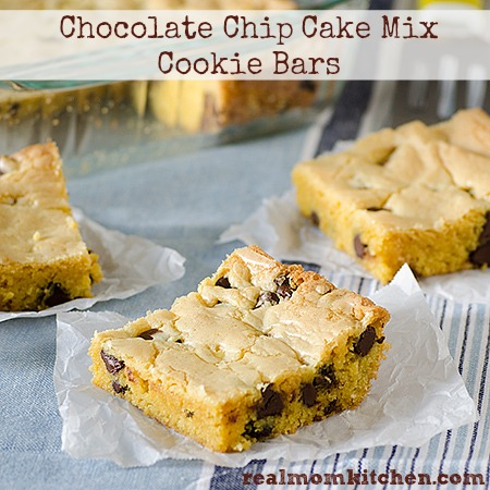 chocolate chip cake mix