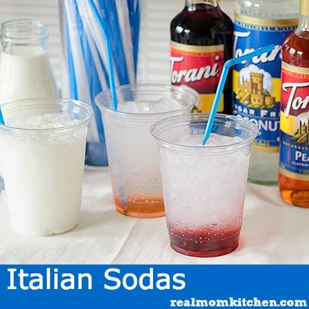 Italian Sodas   realmomkitchen.com
