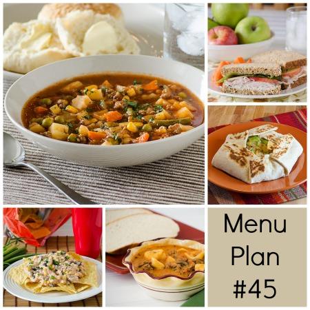 Menu Plan Monday – Week 45