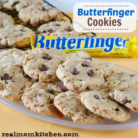 Butterfinger Cookies | Real Mom Kitchen