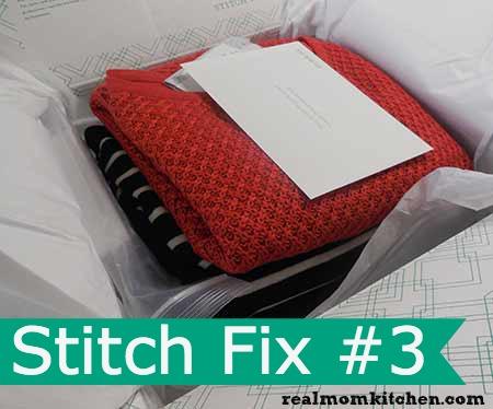 Stitch Fix 3 Package l realmomkitchen.com