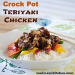 Crock Pot Teriyaki Chicken | realmomkitchen.com