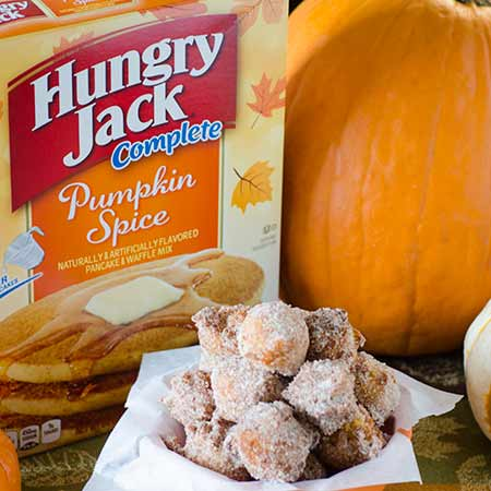 Pumpkin spice pancake poppers real mom kitchen pumpkin spice pancake poppers box ccuart Images