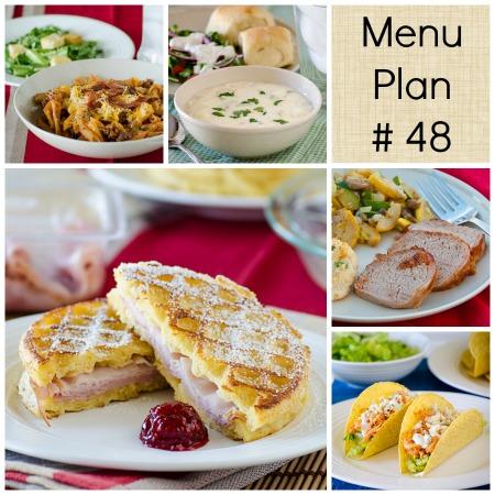 Menu Plan Monday – Week 48