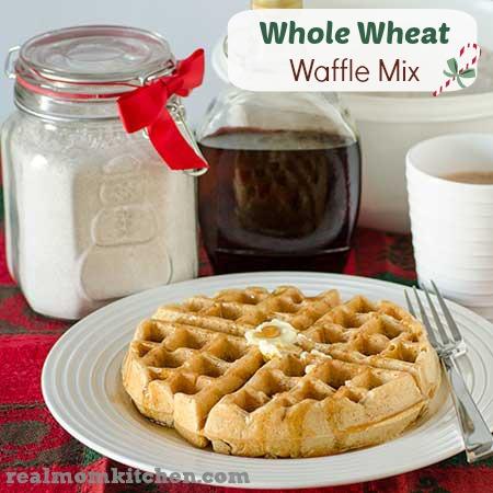 Whole Wheat Waffle Mix