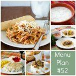 menu plan week 52 | realmomkitchen.com