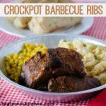 Crockpot Barbecue Ribs | realmomkitchen.com