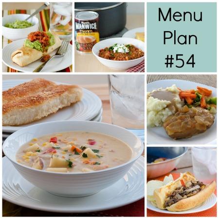 Menu Plan Monday – Week 54