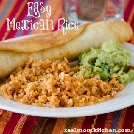 Easy Mexican Rice | realmomkitchen.com