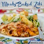 Meaty Baked Ziti | realmomkitchen.com