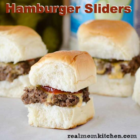 Hamburger Sliders   realmomkitchen.com