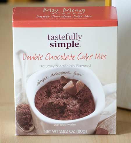 My Mug Cake Double Chocolate