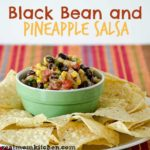 Black Bean and Pineapple Salsa | realmomkitchen.com