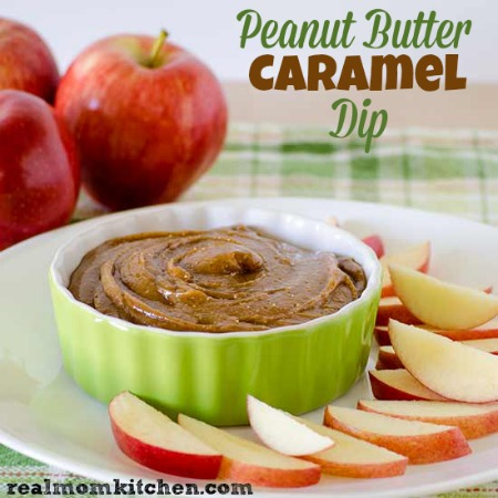 Peanut Butter Caramel Dip | realmomkitchen.com
