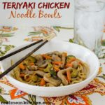 Teriyaki Chicken Noodle Bowls | realmomkitchen.com