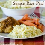 Simple Rice Pilaf | realmomkitchen.com