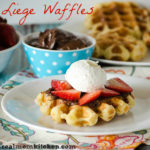 Liege Belgian Waffles | realmomkitchen.com