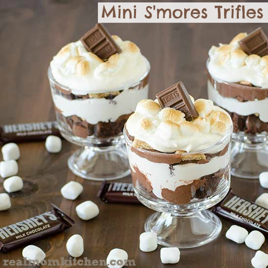 Mini Real Food Kitchen: Mini S'mores Trifles