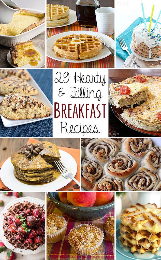 29 Filling Breakfast Recipes | realmomkitchen.com #nationalbreakfastmonth #CelebratingFood2015