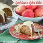 Applesauce Spice Cake | realmomkitchen.com