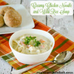 Chicken Noodle and Wild Rice Soup | realmomkitchen.com