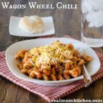 Wagon Wheel Chili | realmomkitchen.com