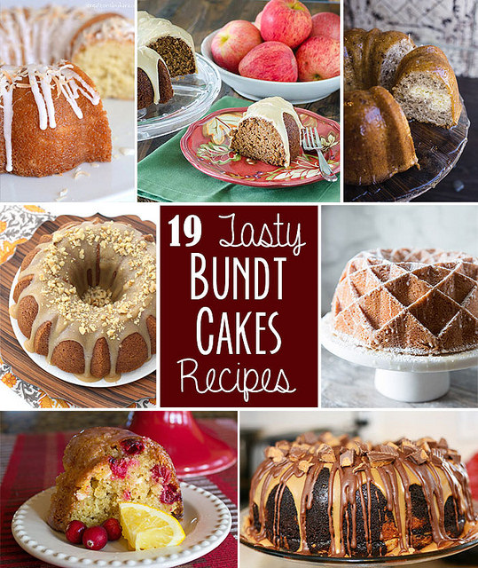 19 Bundt Cake Recipes | realmomkitchen.com #nationalbundtcakeday