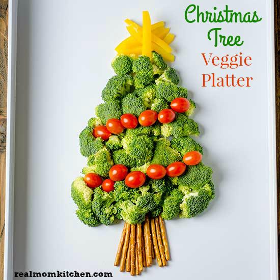christmas tree veggie platter realmomkitchencom