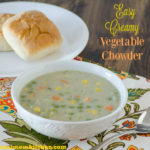 Easy Creamy Vegetable Chowder | realmomkitchen.com