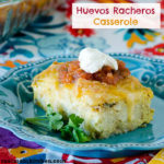 Huevos Rancheros Casserole   realmomkitchen.com