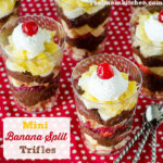 Mini Banana Split Trifles | realmomkitchen.com