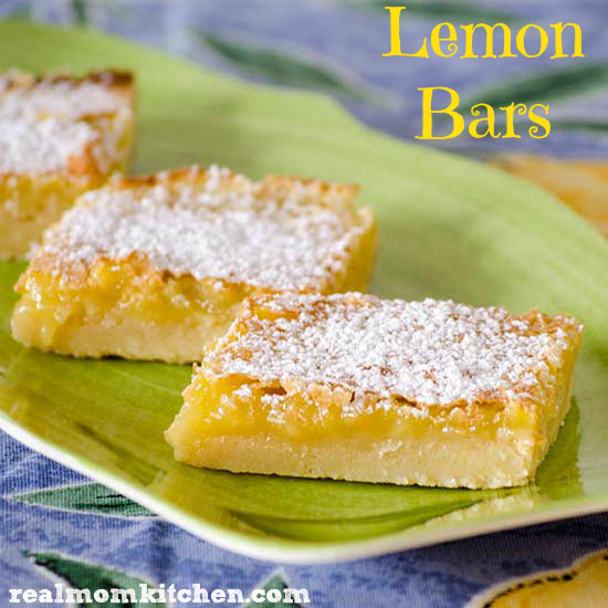 Lemon Bars | realmomkitchen.com