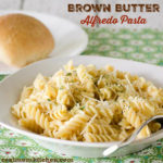 Brown Butter Alfredo Pasta | realmomkitchen.com