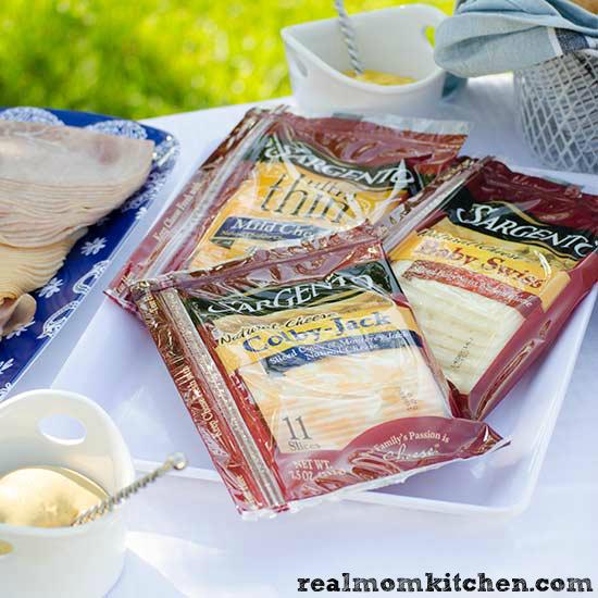 How to Host a Sandwich Bar - Sargento Sliced Cheese How to Host a Sandwich Bar - deli meats   realmomkitchen.com