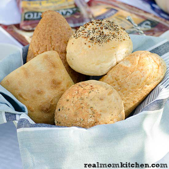 How to Host a Sandwich Bar - rolls   realmomkitchen.com
