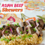 Asian Beef Skewers   realmomkitchen.com