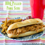 BBQ Pulled Pork Subs | realmomkitchen.com