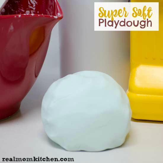 Super Soft Playdough | realmomkitchen.com