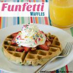 Funfetti Waffles   realmomkitchen.com