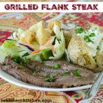 Grilled Flank Steak | realmomkitchen.com