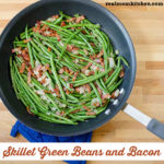 Skillet Geen Beans and Bacon | realmomkitchen.com