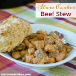 Slow Cooker Beef Stew | realmomkitchen.com