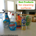 Best Products for Cleaning Surfaces | realmomkitchen.com