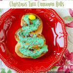 Christmas Tree Cinnamon Rolls | realmomkitchen.com
