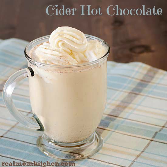 Cider Hot Chocolate | realmomkitchen.com