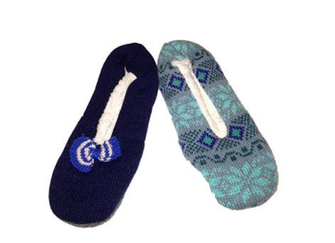 K Bell Sherpa Lined Slipper Socks | realmomkitchen.com