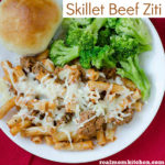 Skillet Beef Ziti | realmomkitchen.com