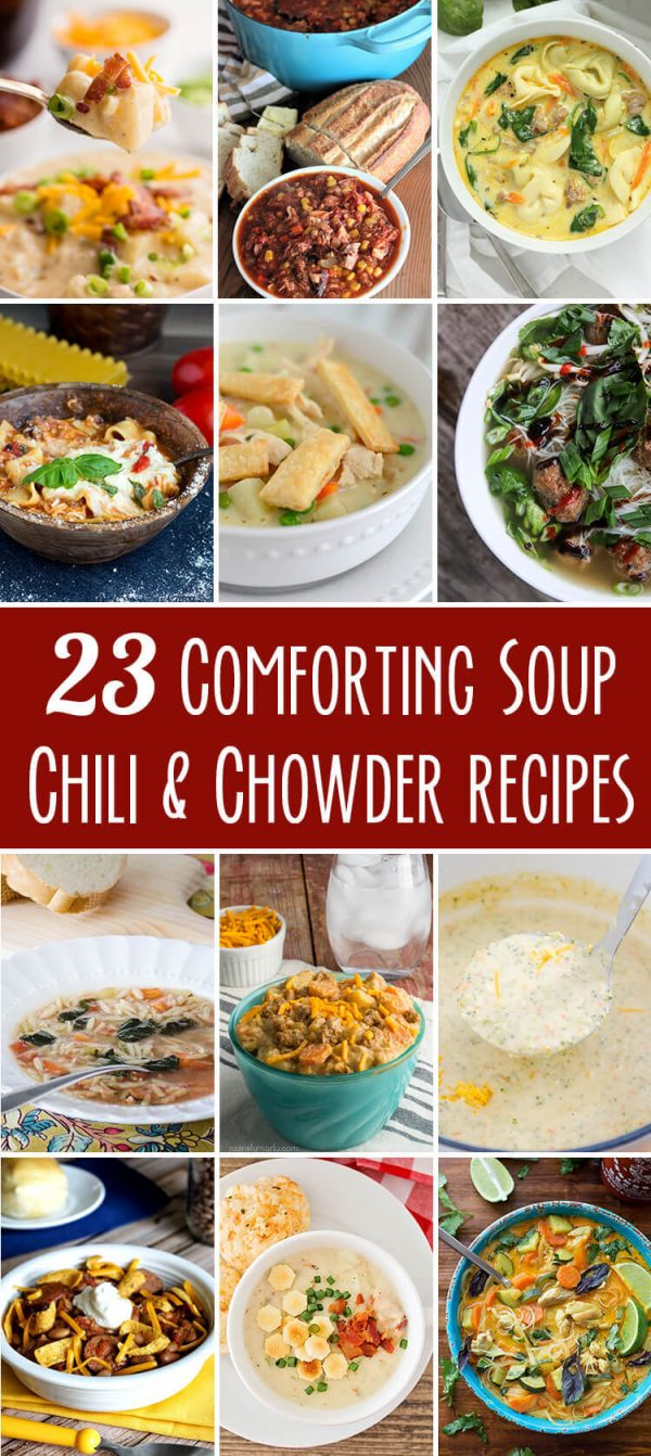 23 Comforting Soups   realmomkitchen.com